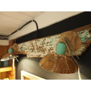 Luminaires Creakaz - spots - Créations artisanales Guadeloupe
