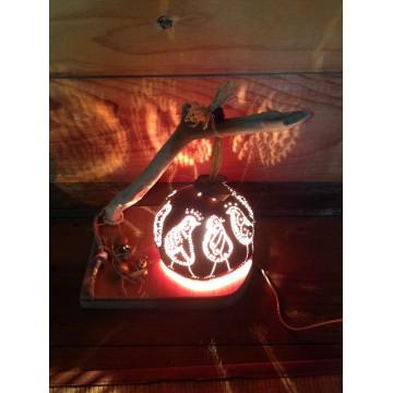 Objets Décoratifs-lampes ti-moun-Créations artisanales Guadeloupe