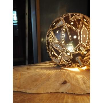 Luminaires Creakaz - Lampe sur pied- Créations artisanales Guadeloupe